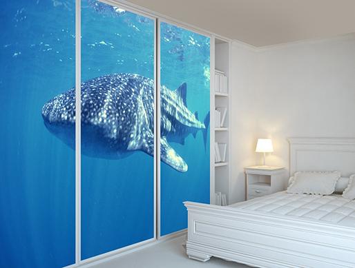 Fotomural tiburón ballena