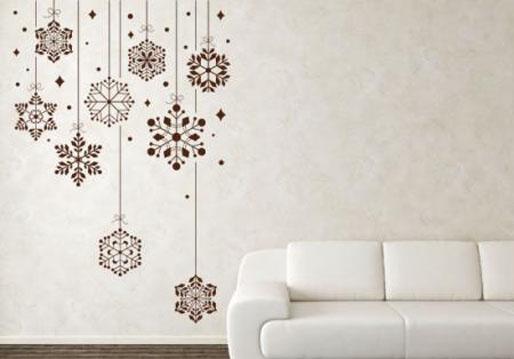 Se acerca la navidad y podemos decorar con vinilos - Murales decorativos de navidad ...