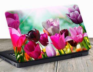 vinilos-para-portatiles-con-tulipanes