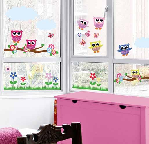 B hos en vinilos decorativos para ventanas vinilos for Vinilos para habitaciones de ninos