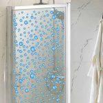 Gotas de vinilo para la mampara de la ducha