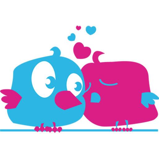 vinilo-de-aves-coloridas