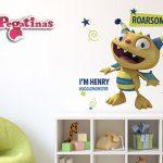 vinilos-decorativos-de-henry-el-monstruo-feliz